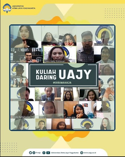 Proses Perkuliahan UAJY Online Learning