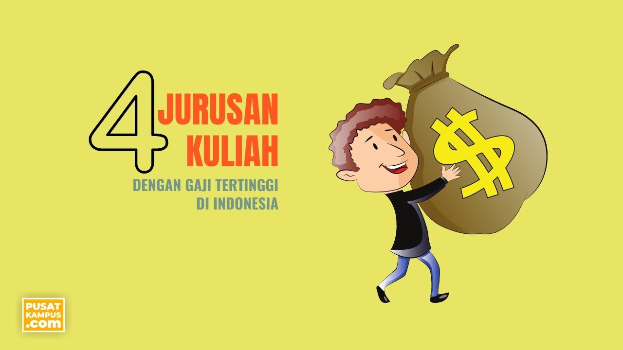 Jurusan Kuliah Dengan Gaji Tertinggi Di Indonesia